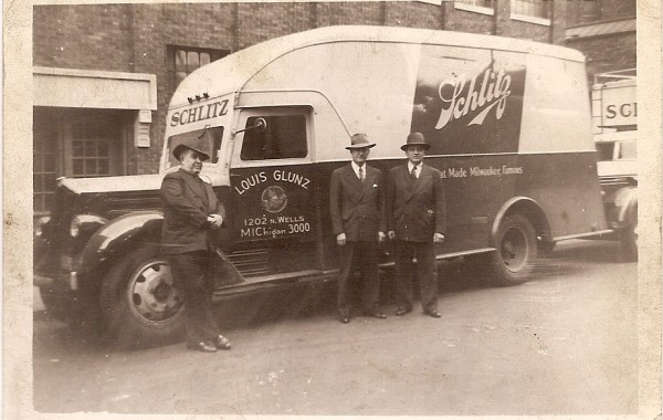 1940's Glunz Delivery Truck